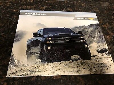 2017 CHEVY SILVERADO HD 42-page Original Sales Brochure