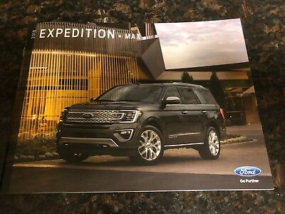 2018 FORD EXPEDITION + MAX 36-page Original Sales Brochure