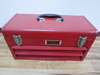 Snap-on Tool Box Blue Point KRW182 Red Metal Tool Box
