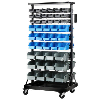 Giantz 90 Bins Storage Shelving Rack Heavy Duty Organiser For Shed Workshop