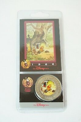 Disney Store Decades Coin Medal #37 Pooh 1966