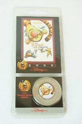 Disney Store Decades Coin Medal #30 The Tigger Movie 2000 Pooh Friends