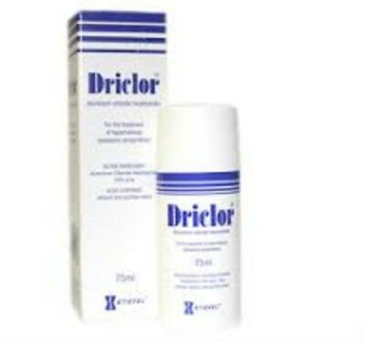 Driclor Antiperspirant 1 X 75 ML Roll-On‼️For Excessive Sweating