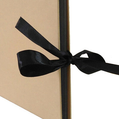 "Scrapbook Photo Album with 40 Black Pages 12x9"" Great for Mother's Day Gifts"