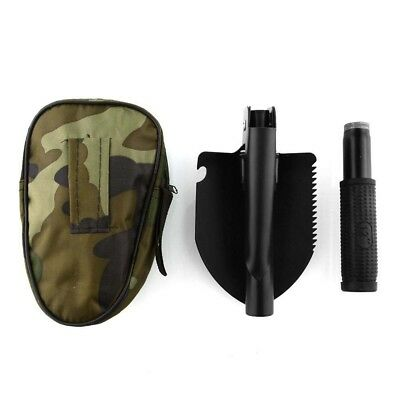Multifunction Folding Shovel Camping Yard Military Outdoor Survival Tool Spade