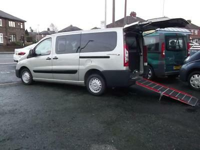 2012 12 Peugeot Expert Tepee 2.0Hdi Long Wheelbase Wheelchair Accessible 6 Seats