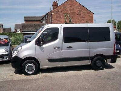 2012 12 Renault Master New Shape 2.3 Sl28 Dci Wheelchair Accessible Ricon Lift D