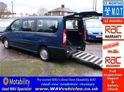 2012 12 Peugeot Expert Tepee 1.6 Hdi L2 Wheelchair Accessible 6 Seats Long Wheel