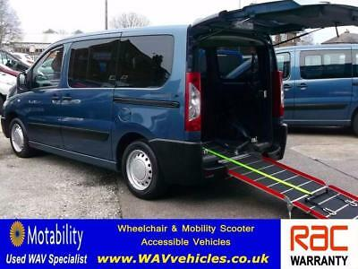 2012 12 Peugeot Expert 1.6 Hdi  7 Seats Wheelchair Accessible Adapted Diesel