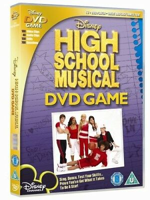 High School Musical Dvd Game *mint* Disk Excellent Condiiton Game!