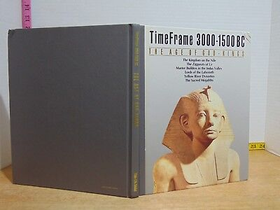 TimeFrame 3000-1500 BC: The Age Of God Kings by Time/Life (1987, Hardcover)