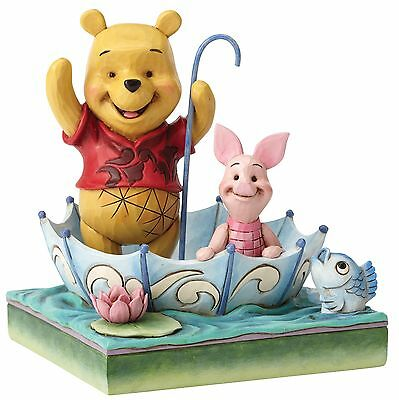 Disney Traditions 50 Years Of Friendship Pooh & Piglet Figurine 16cm 4054279 New