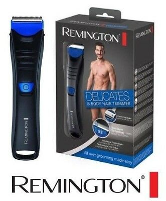 Remington Delicates Grooming Men Body & Hair Trimmer Shaver Hair Removal BHT250