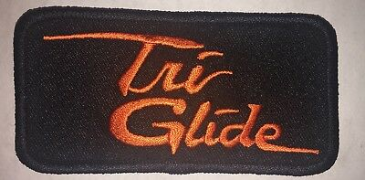 Harley Tri Glide patch. MADE IN USA!
