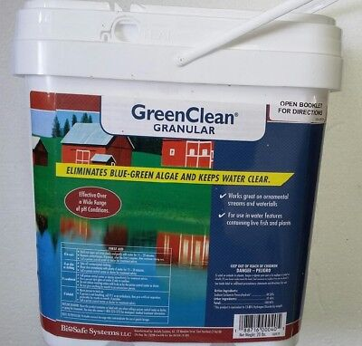 Green Clean Algaecide Granular 20 lbs.  - Safe for fish and plants!