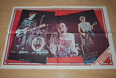 The Sex Pistols - Rare 1977 Record Mirror Punk Poster