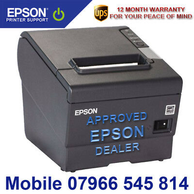 New Epson Tm-T88 V Rs 232 Serial + Usb + 12 Month Warranty + Pat Test + Psu 180