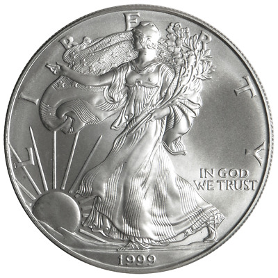 1999 $1 American Silver Eagle 1 oz Brilliant Uncirculated