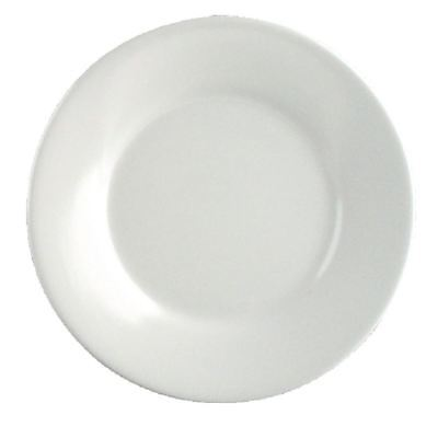 Kristallon Round Serving Plates - Melamine Whiteware - 150(Ø) mm - 12 p?