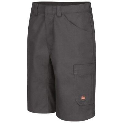 Red Kap Men's Performance Shop Work Shorts, Charcoal
