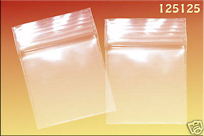 Zip Lock baggies 1.25 x 1.25 (1000/pack) - Clear