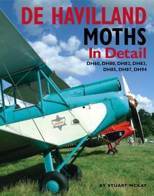 De Havilland Moths In Detail DH60 DH80 DH82 DH83 DH85 DH87 DH94 AIRPLANE BOOK