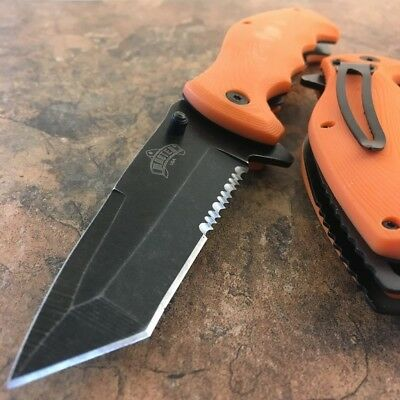 """8.5"""" Military Tactical Spring Assisted Open Tanto Folding Blade Pocket Knife EDC"""