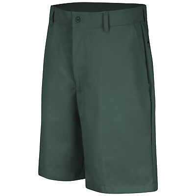 Red Kap Men's Plain Work Shorts, Spruce Green
