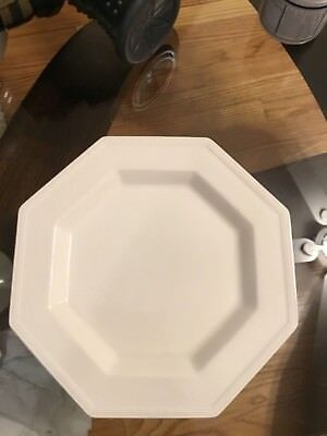 Johnson Brothers Heritage Octagon White Dinner Plate China Made in England & JOHNSON BROTHERS HERITAGE Octagon White Dinner Plate China Made in ...
