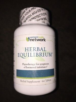 Herbal Equilibrium - 60 Tablets - Natural Menopause Relief Supplement Exp 1/2020