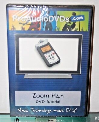 zoom h4n video help tutorial training lesson reviews learn pro audio dvds