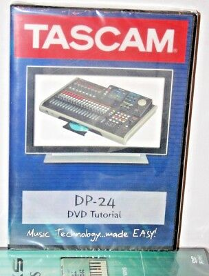 Tascam DP24 video dvd help tutorial training lesson