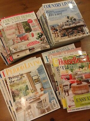 30 Issues Country Living Magazines etc Collection