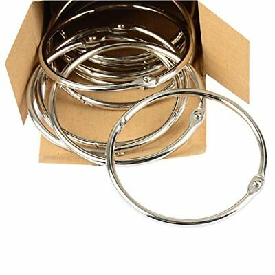 Pawfly Large Loose Leaf Binder Rings Book Ring, 2 Inch And 3 Inch, 24 Pieces *Ne