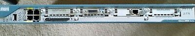 Cisco 2 x 2800 Routers with ONE HWIC 4ESW CARD