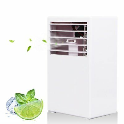 Portable Room Air Conditioner Office Sleep Mini Cooler White Small Air Plus  New