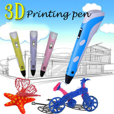 2nd 3D Printing Pen Craft Doodle Drawing Arts Printer Modeling PLA/ABS Filaments