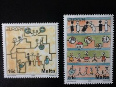 Malta 2006 Europa set of two  Unmounted Mint SG 1482/1483 VF L 6245