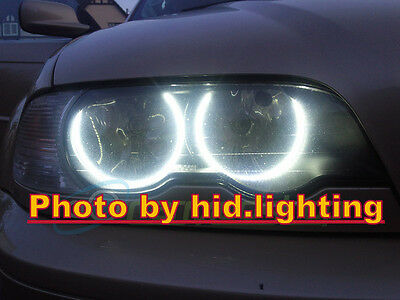 BMW Angel Eye Halo Light LED SMD E46 3 Series White 6000K Non-Projector 12V