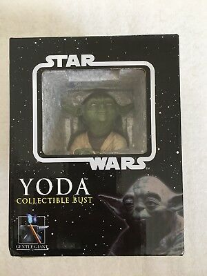 Gentle Giant Star Wars Yoda Bust Statue (New in box) Empire Strikes Back 2005