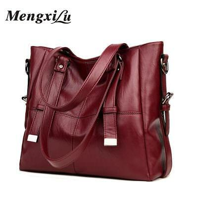 MENGXILU Patchwork Women Shoulder Bags Large Capacity Women Handbags High Qualit