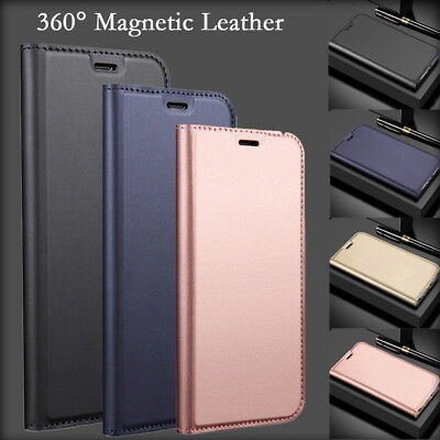 For Huawei P20 Lite/Pro/Plus Magnetic Leather Flip Card Wallet Stand Cover Case