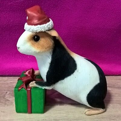 Christmas Guinea Pig Collectible Figurine by Country Artists