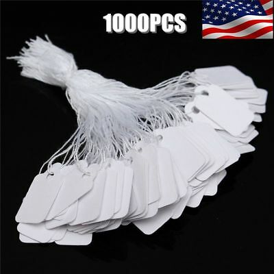 1000Pk Price Tags Marking Label Paper Key Small Lot For Retail Merchandise Store