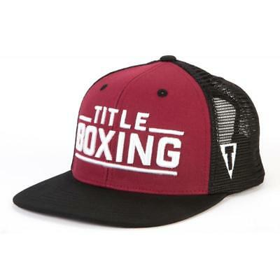 Title Boxing Junction Adjustable Cap Flat Bill
