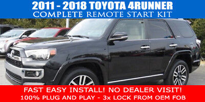 Fits: 2010 - 2019 Toyota 4Runner Push Start REMOTE START PLUG AND PLAY - EASY!