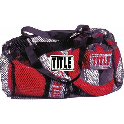Title Boxing Mesh Equipment Gear Bag