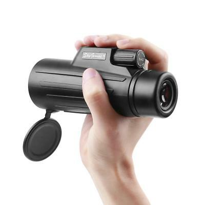 8x42 Compact Lightweight Pocket Monocular Telescope For Adults Kids. HD...