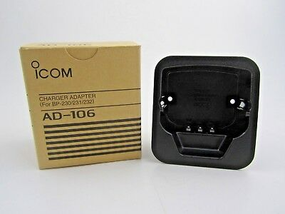 Icom AD-106 Charger Adapter Cup For BP-230/231/232 BC-119N & BC121N