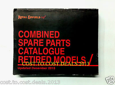 Royal Enfield Combined Spare Parts Catalogue Retired Models Book Update 12/2013